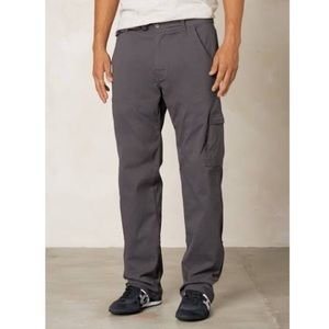 Prana zion hiking pants gray S 30L